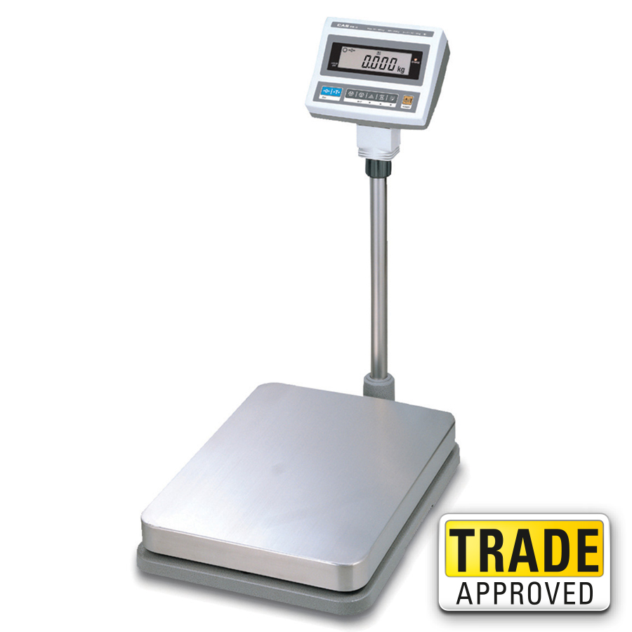 Cas db ii digital weighing floor scale large platform for Scale floor
