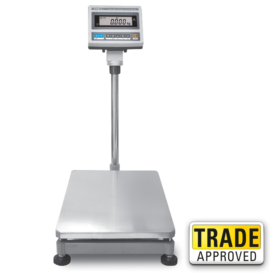 Cas db ii jr digital weighing floor scale industrial for Scale floor
