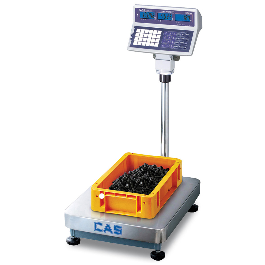 Cas ecb counting floor scale industrial weighing floor scale for Scale floor
