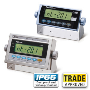 CAS NT-201 LCD Weight Indicators - Trade Approved