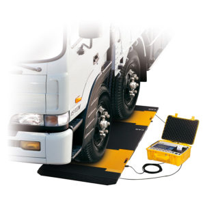 CAS RW-P Vehicle Weighing Pad with RW-P2601P Indicator