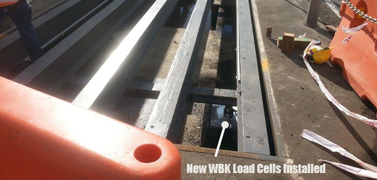 CAS WBK Loadcell Weighbridge Install