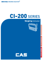 CI-200 User manual