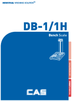 DB-1H User manual