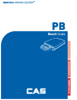 PB Portable Bench Scale Owner Manual
