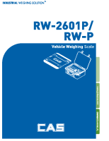 RW-2601P RW-P User Manual